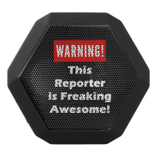 This Reporter is Freaking Awesome! Black Bluetooth Speaker