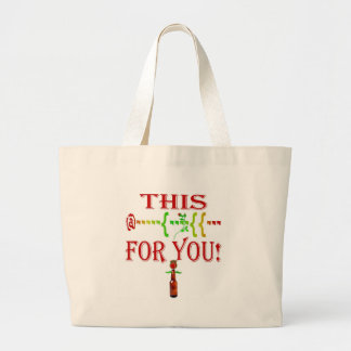 This [rose] Buds For You Large Tote Bag