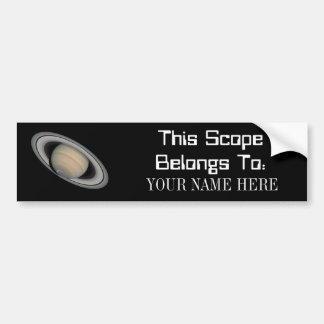 This ScopeBelongs To - sticker Car Bumper Sticker