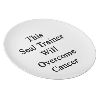 This Seal Trainer Will Overcome Cancer Dinner Plates