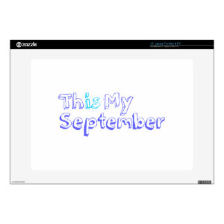 This September Laptop Decal