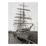 This Ship Talus 1892 Posters
