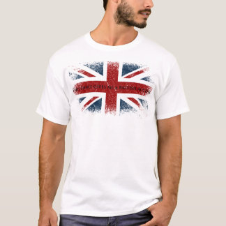 This shirt gives me a British accent.