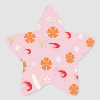 This shrimp you call and 2 star sticker