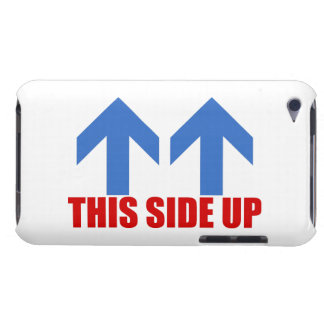 This side up. Case-Mate iPod touch case