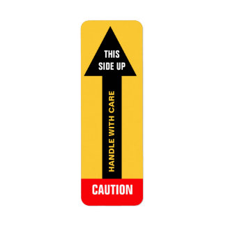 This Side Up Caution Label 3