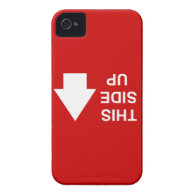 This Side Up (upside down!) Case-Mate iPhone 4 Case