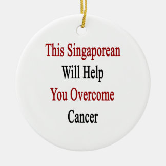 This Singaporean Will Help You Overcome Cancer Christmas Ornaments