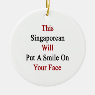 This Singaporean Will Put A Smile On Your Face Ornaments