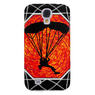 THIS SKYDIVING SET GALAXY S4 COVERS