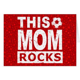 This Soccer Mom Rocks Card