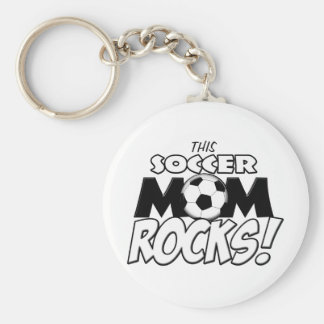 This Soccer Mom Rocks.png Keychain
