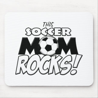This Soccer Mom Rocks.png Mouse Pad