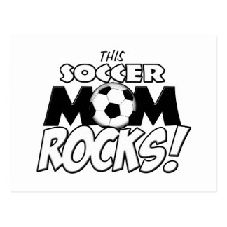 This Soccer Mom Rocks.png Postcard