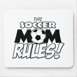 This Soccer Mom Rules.png Mouse Pad