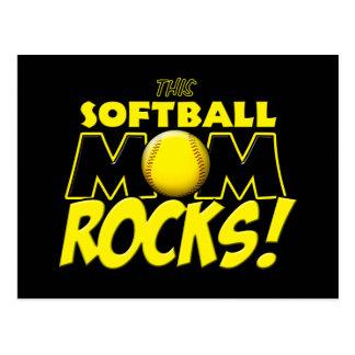 This Softball Mom Rocks copy.png Postcard