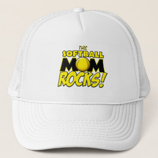 This Softball Mom Rocks copy.png Trucker Hat