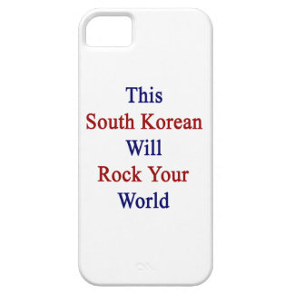 This South Korean Will Rock Your World iPhone 5 Cover