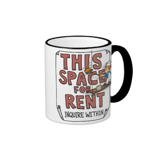 This Space for Rent mug