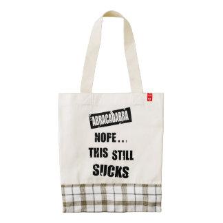 This Still Sucks Zazzle HEART Tote Bag
