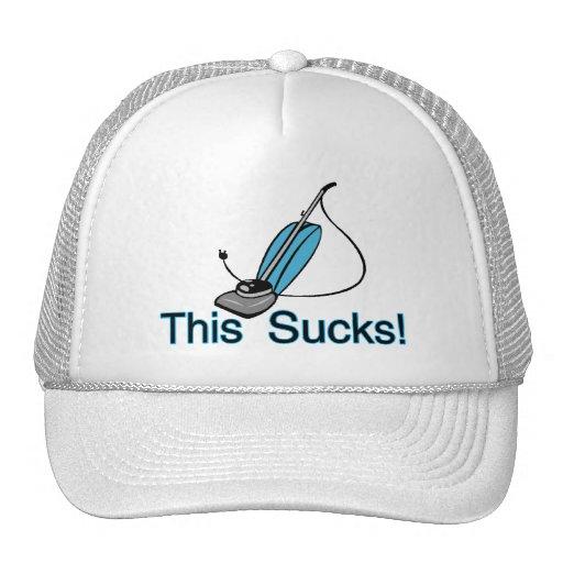 This Sucks Vaccuum Cleaner Trucker Hat