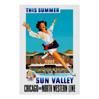 This Summer ~ Sun Valley Poster