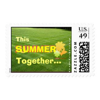 This Summer Together (Garden) Stamp