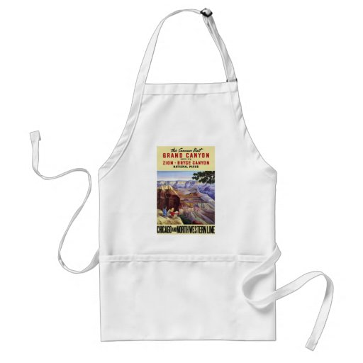 This Summer Visit Grand Canyon Adult Apron