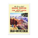This Summer Visit Grand Canyon Canvas Print