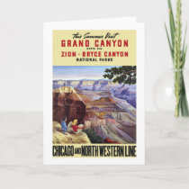 This Summer Visit Grand Canyon Card