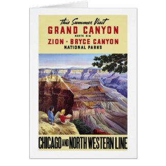 This Summer Visit Grand Canyon Card