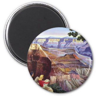 This Summer Visit Grand Canyon 2 Inch Round Magnet