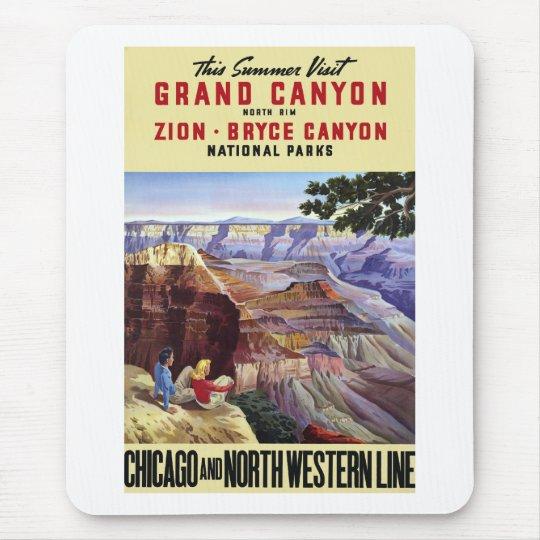 This Summer Visit Grand Canyon Mouse Pad