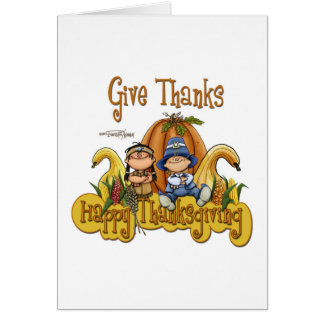 This Thanksgiving GIVE THANKS Card