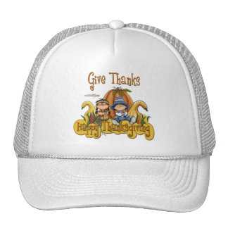 This Thanksgiving GIVE THANKS Trucker Hat