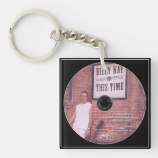 This Time by Billy Kay Square Keychains