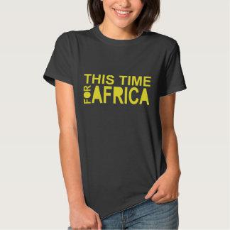 This Time For Africa Waka-waka women Tshirt 2 Side
