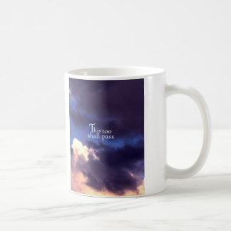 This too shall pass classic white coffee mug