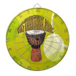 This Traditional Music With Background Patern Dart Boards