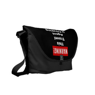 This Travel Agent is Freaking Awesome! Courier Bag