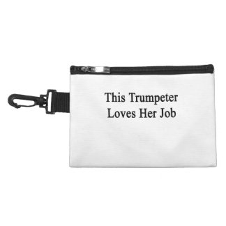 This Trumpeter Loves Her Job Accessory Bag