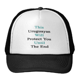 This Uruguayan Will Protect You Until The End Mesh Hats