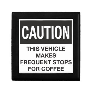 This Vehicle Makes Frequent Stops For Coffee Trinket Box