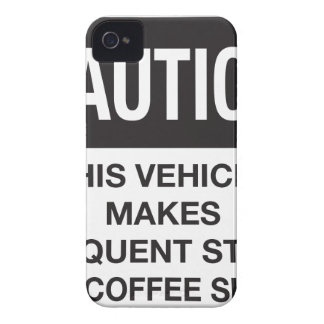 This Vehicle Makes Frequent Stops For Coffee Shops iPhone 4 Case-Mate Cases