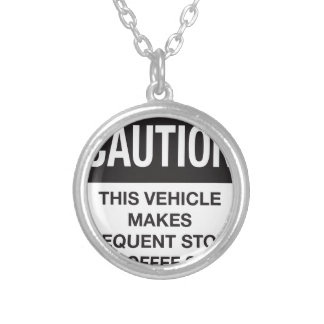 This Vehicle Makes Frequent Stops For Coffee Shops Pendants