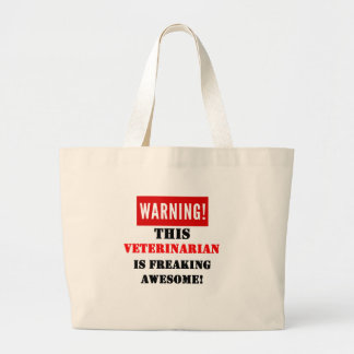 This Veterinarian is Freaking Awesome! Jumbo Tote Bag