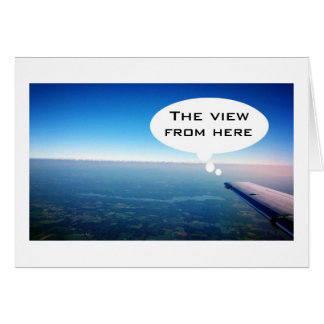 """THIS VIEW-NOT """"YOU NEXT TO ME!"""" CARD"""