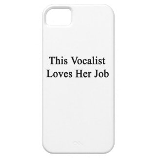 This Vocalist Loves Her Job iPhone SE/5/5s Case