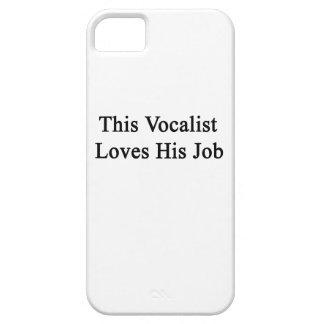 This Vocalist Loves His Job iPhone SE/5/5s Case