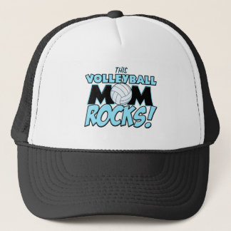 This Volleyball Mom Rocks.png Trucker Hat